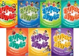 Podręczniki super minds dla dzieci